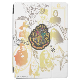 Harry Potter | Colorful Hogwarts Crest iPad Air Cover