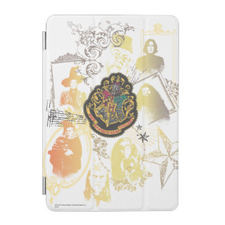 Harry Potter | Colorful Hogwarts Crest iPad Mini Cover