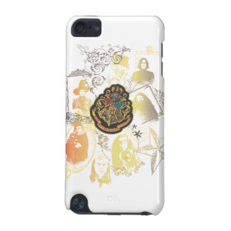 Harry Potter | Colorful Hogwarts Crest iPod Touch 5G Cover