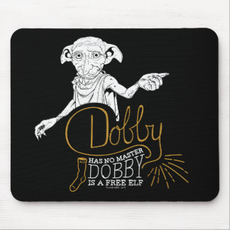 Harry Potter | Dobby Has No Master Mouse Pad