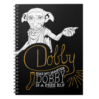 Harry Potter | Dobby Has No Master Notebooks