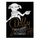 Harry Potter | Dobby Has No Master Postcard