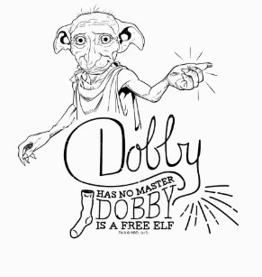 Image Result For Harry Potter Dobby Doodle Art Sketches T