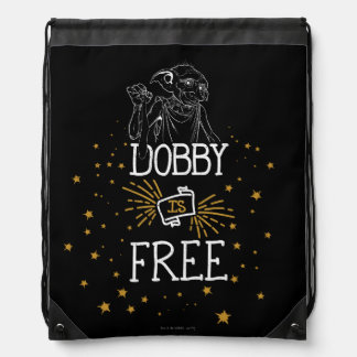 Harry Potter | Dobby Is Free Drawstring Bag