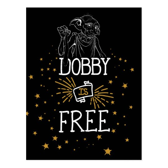 Harry Potter | Dobby Is Free Postcard