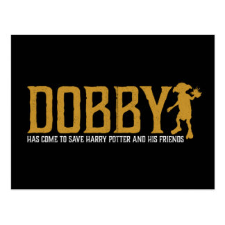 Harry Potter | Dobby Save Harry Potter Postcard