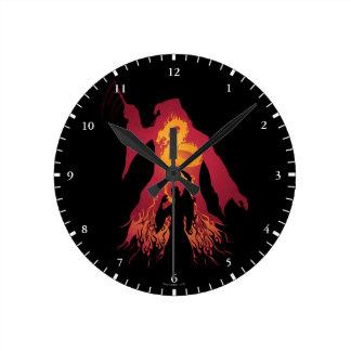 Harry Potter | Dumbledore Silhouette Round Clock
