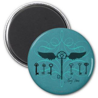 HARRY POTTER™ Flying Keys 6 Cm Round Magnet