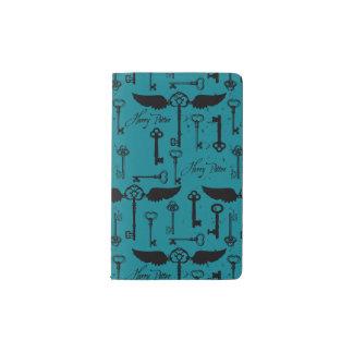 HARRY POTTER™ Flying Keys Pattern Pocket Moleskine Notebook