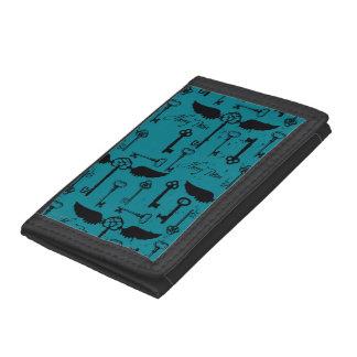HARRY POTTER™ Flying Keys Pattern Tri-fold Wallet