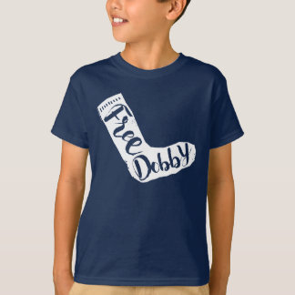 "Harry Potter | ""Free Dobby"" Sock Typography T-Shirt"