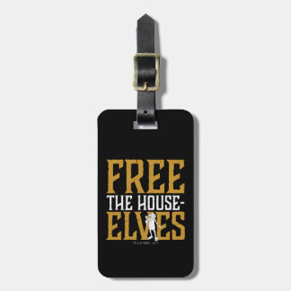 Harry Potter | Free The House Elves Luggage Tag