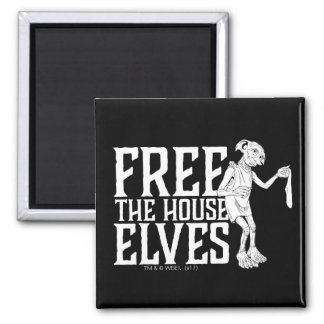 Harry Potter | Free The House Elves Magnet