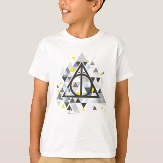 Harry Potter | Geometric Deathly Hallows Symbol T-Shirt