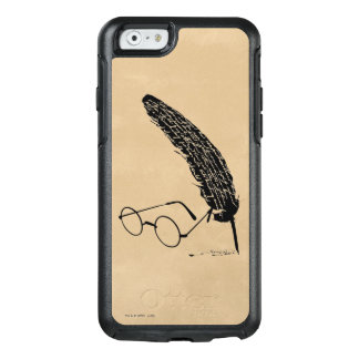 HARRY POTTER™ Glasses And Quill 2 OtterBox iPhone 6/6s Case