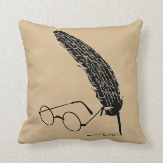 Harry Potter | Glasses And Quill Cushion