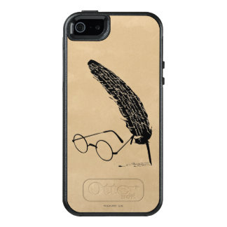 Harry Potter | Glasses And Quill OtterBox iPhone 5/5s/SE Case