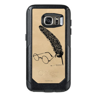Harry Potter | Glasses And Quill OtterBox Samsung Galaxy S7 Case