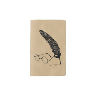 Harry Potter | Glasses And Quill Pocket Moleskine Notebook