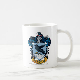 Harry Potter  | Gothic Ravenclaw Crest Coffee Mug
