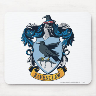 Harry Potter  | Gothic Ravenclaw Crest Mouse Mat