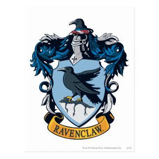 Harry Potter  | Gothic Ravenclaw Crest Postcard