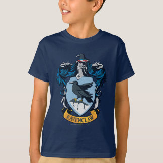 Harry Potter  | Gothic Ravenclaw Crest T-Shirt
