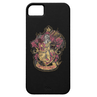 Harry Potter | Gryffindor Crest - Destroyed Barely There iPhone 5 Case