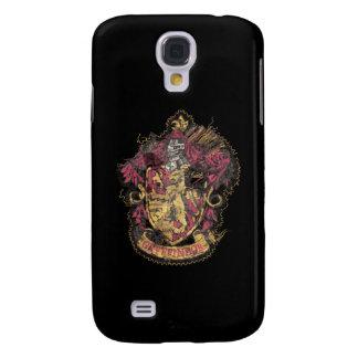 Harry Potter | Gryffindor Crest - Destroyed Galaxy S4 Case
