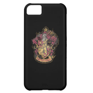 Harry Potter | Gryffindor Crest - Destroyed iPhone 5C Case