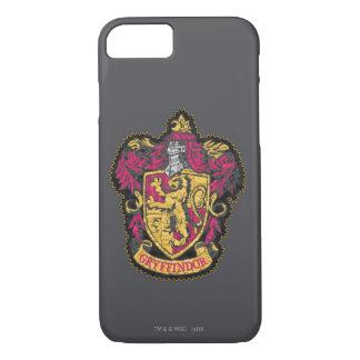 Harry Potter   Gryffindor Crest - Destroyed iPhone 8/7 Case