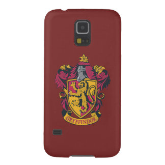 Harry Potter | Gryffindor Crest Gold and Red Case For Galaxy S5
