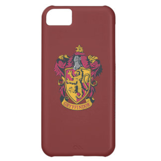 Harry Potter | Gryffindor Crest Gold and Red iPhone 5C Case