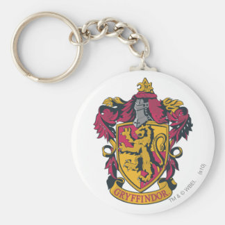 Harry Potter | Gryffindor Crest Gold and Red Key Ring