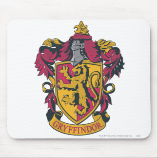 Harry Potter | Gryffindor Crest Gold and Red Mouse Mat