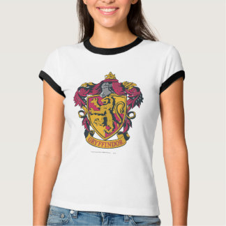 Harry Potter   Gryffindor Crest Gold and Red T-Shirt