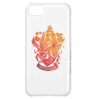 Harry Potter | Gryffindor Crest - Splattered iPhone 5C Case