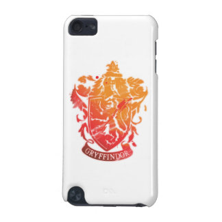 Harry Potter | Gryffindor Crest - Splattered iPod Touch (5th Generation) Case