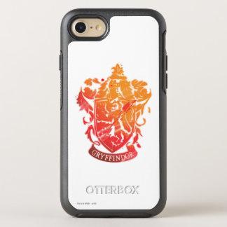 Harry Potter | Gryffindor Crest - Splattered OtterBox Symmetry iPhone 8/7 Case