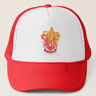 Harry Potter | Gryffindor Crest - Splattered Trucker Hat