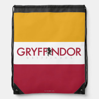 Harry Potter | Gryffindor House Pride Crest Drawstring Bag