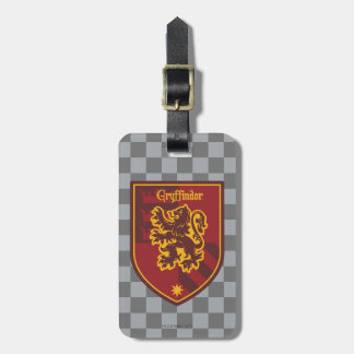Harry Potter | Gryffindor House Pride Crest Luggage Tag