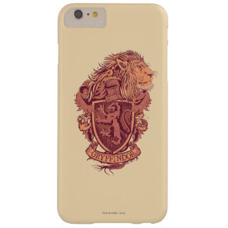 Harry Potter | Gryffindor Lion Crest Barely There iPhone 6 Plus Case