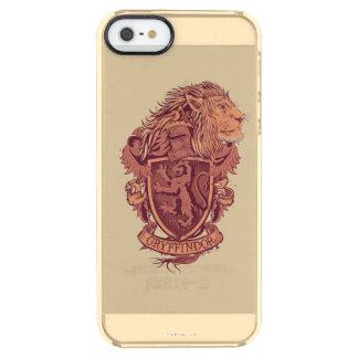 Harry Potter | Gryffindor Lion Crest Clear iPhone SE/5/5s Case