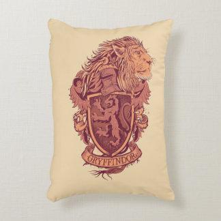Harry Potter   Gryffindor Lion Crest Decorative Cushion