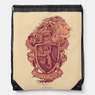 Harry Potter | Gryffindor Lion Crest Drawstring Bag