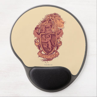 Harry Potter | Gryffindor Lion Crest Gel Mouse Mat
