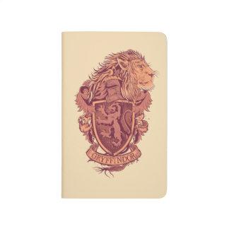 Harry Potter | Gryffindor Lion Crest Journal