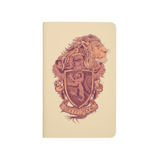 Harry Potter | Gryffindor Lion Crest Journals