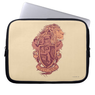 Harry Potter | Gryffindor Lion Crest Laptop Sleeve